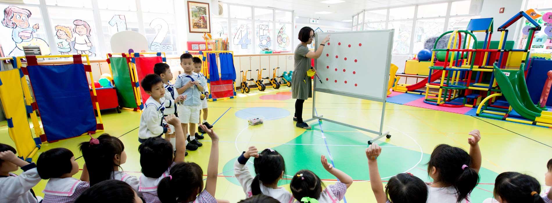 中華基督教青年會幼稚園服務介紹頁面橫幅